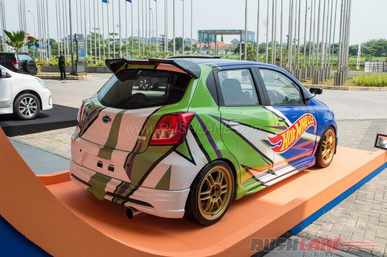 Datsun Go Hotwheels Edition 2016 GIIAS Indonesia