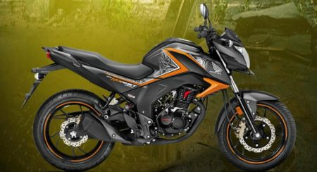 Honda CB Hornet 160R introduced in new Striking Green and Mars Orange colour schemes
