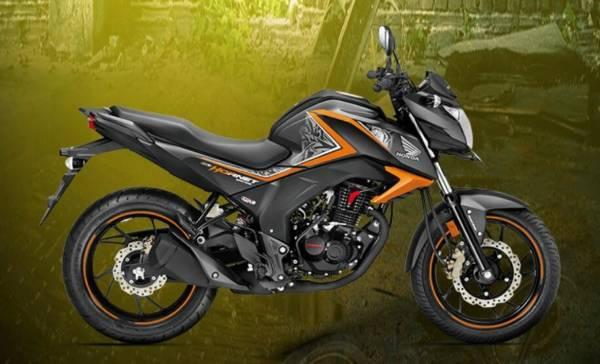 Honda CB Hornet 160R Mars Orange