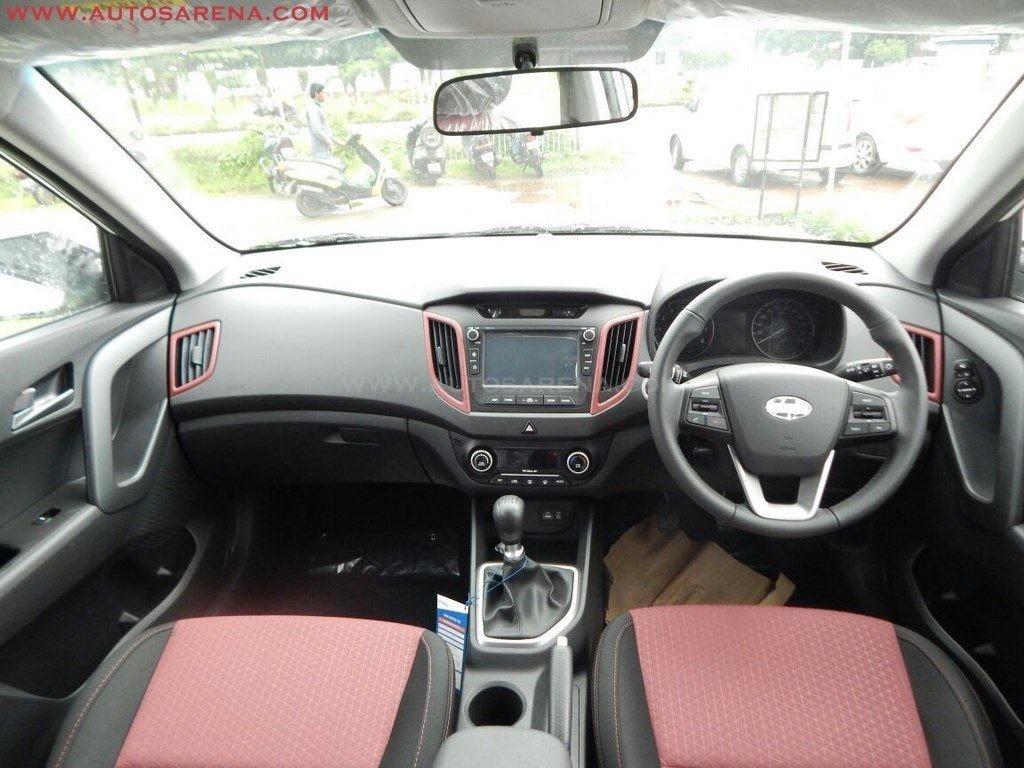 Hyundai Creta Anniversary Edition interior (4)