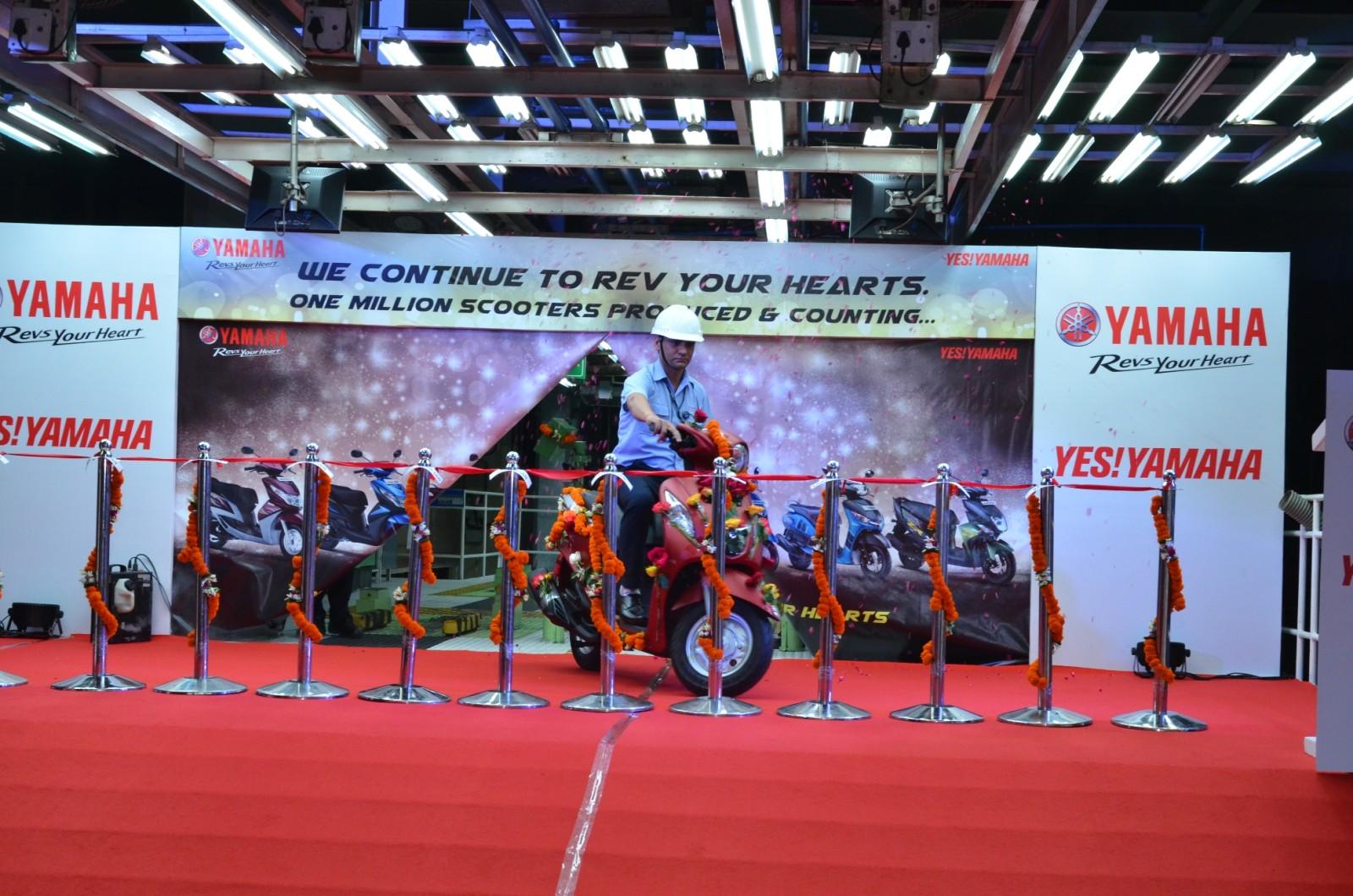 India Yamaha Motor - One Million Scooters (1)