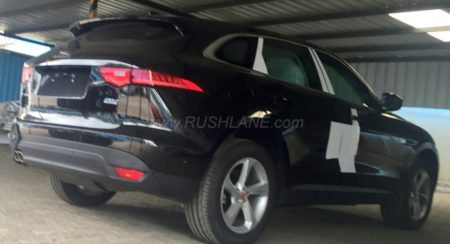 Jaguar F-Pace spied in India ahead of its launch this year