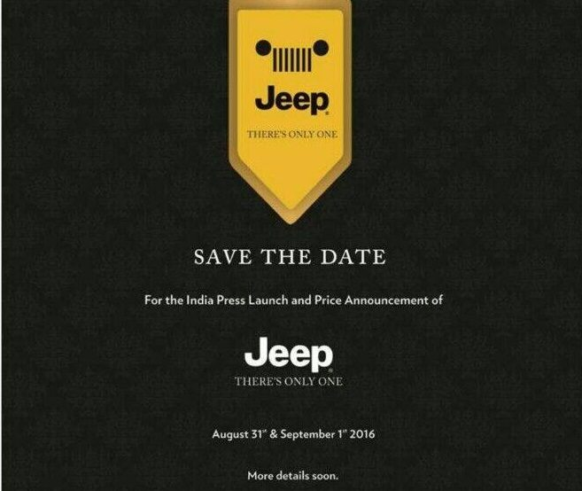 Jeep FCA india launch