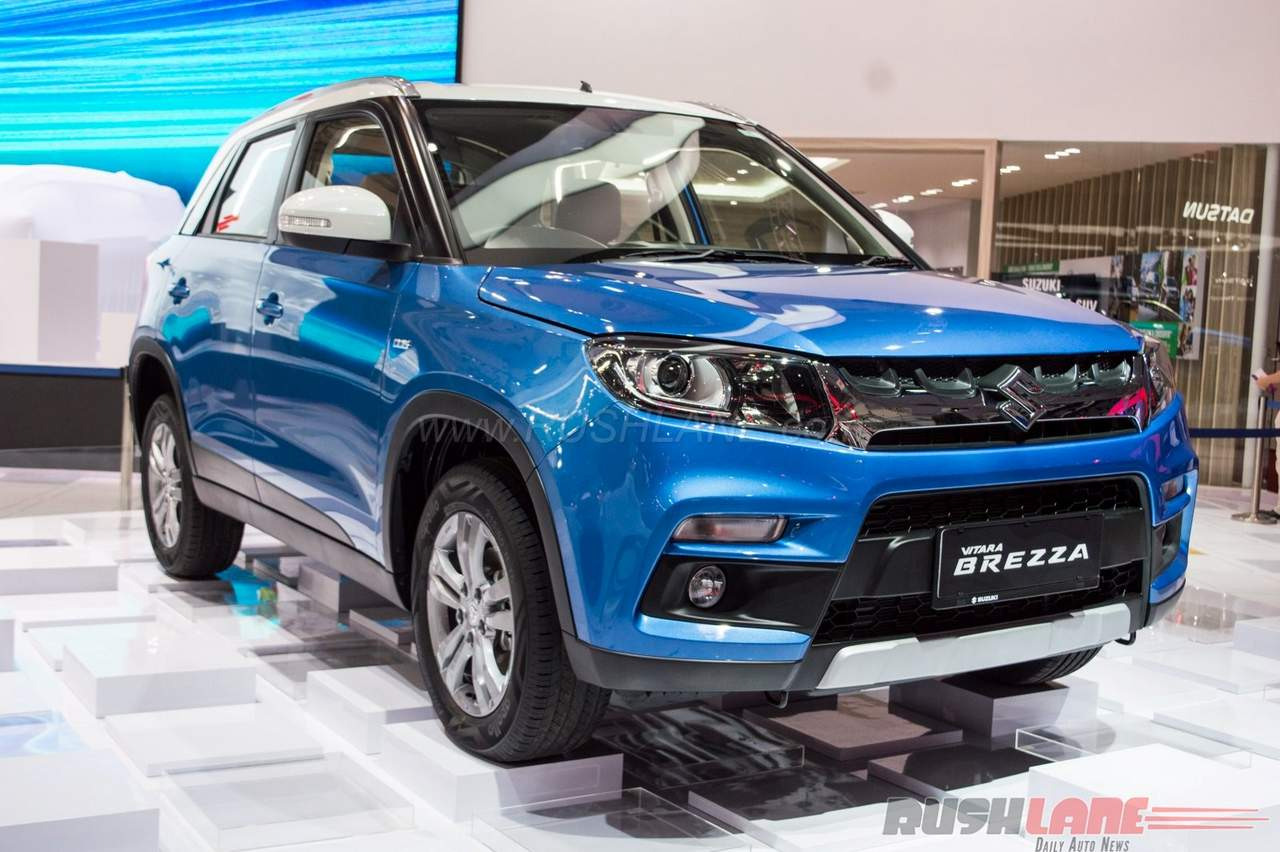 Maruti Suzuki Vitara Brezza AT debuts in Indonesia | Motoroids