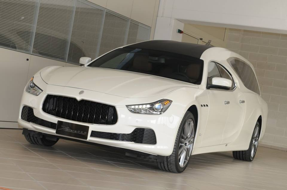 Maserati Ghibli hearse (8)