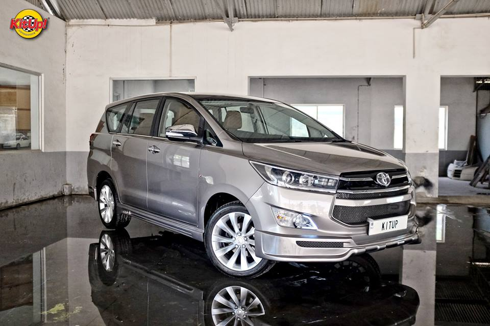 Modified Innova Crysta Is Believed To Be Country S First