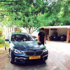 Nagarjuna BMW 7-Series Frozen Blue (1)