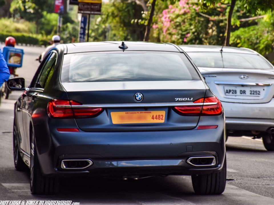 Nagarjuna BMW 7-Series Frozen Blue (2)