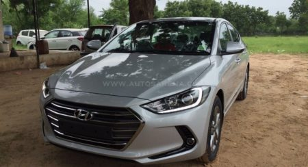 Images: New Hyundai Elantra starts arriving at Indian dealerships before August 23 launch