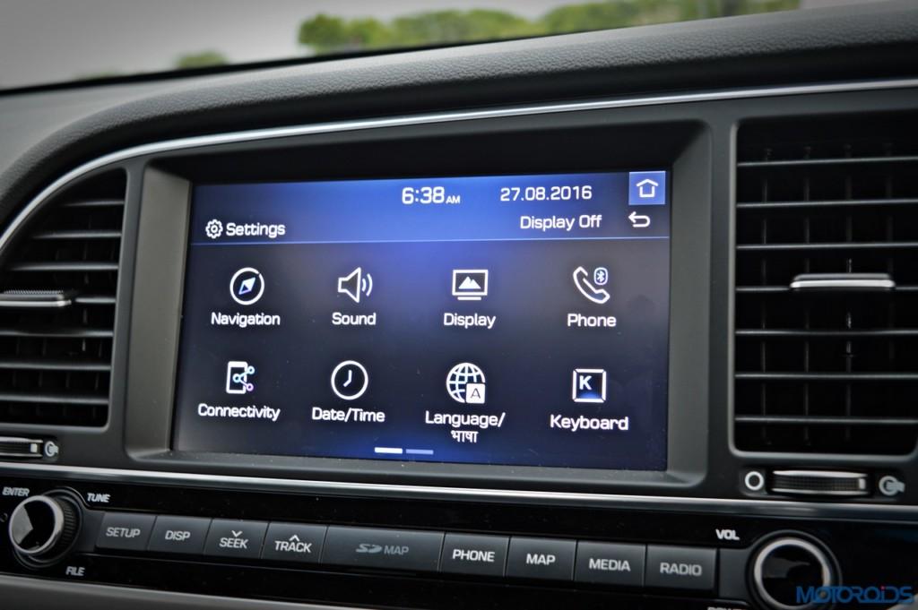 New Hyundai Elantra infotainment system (1)