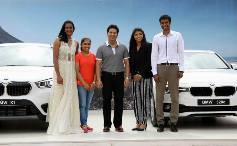 Olympic winners gifted BMW