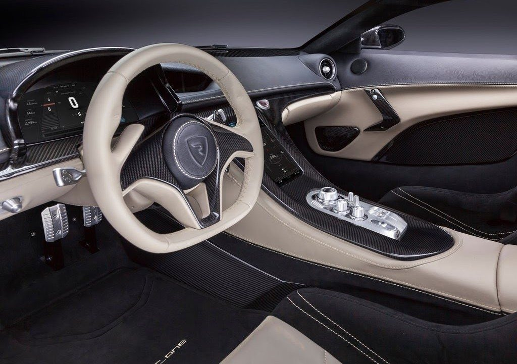 Rimac One interior