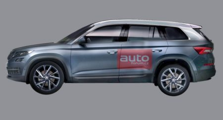 India bound Skoda Kodiaq 7-seat SUV accurately rendered before September 1 debut