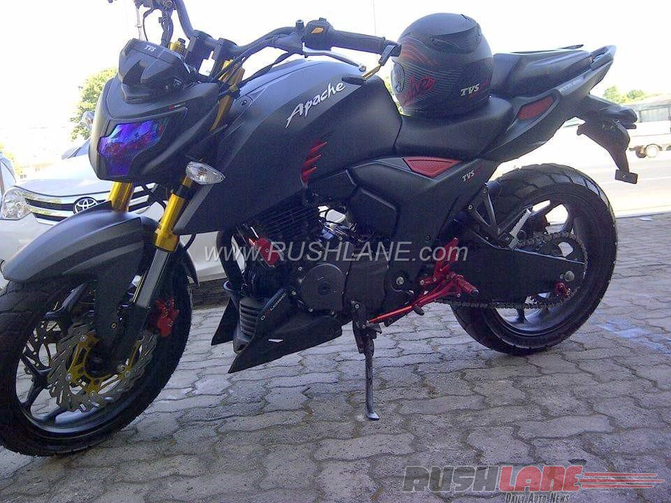 TVS Apache RTR 200 4V modified in Indonesia (3)