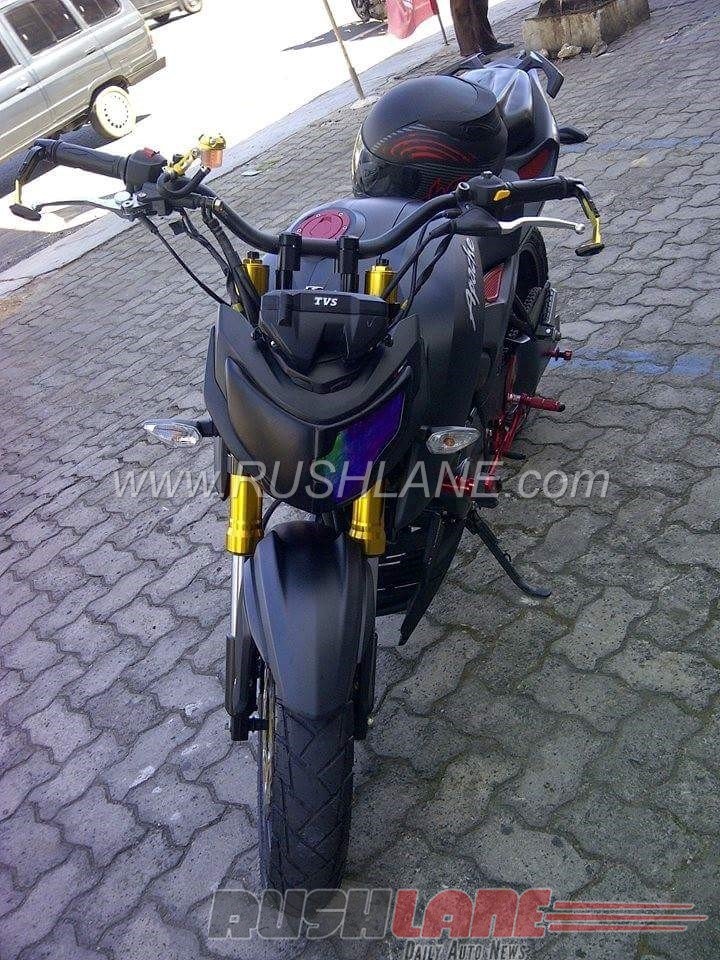 TVS Apache RTR 200 4V modified in Indonesia (4)