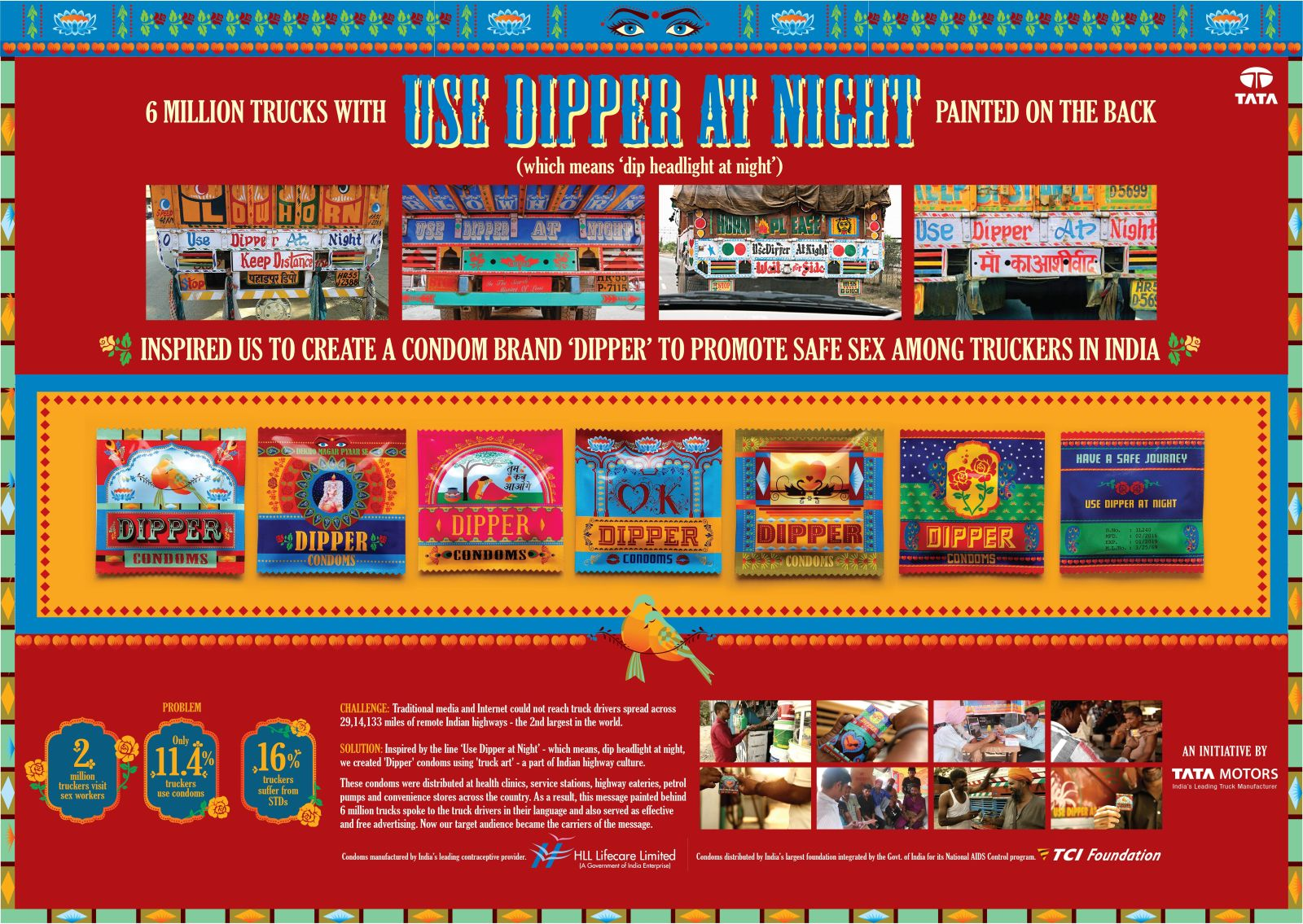 Tata Motors 'Use Dipper At Night' campaign promotes safe sex among truck drivers (4)