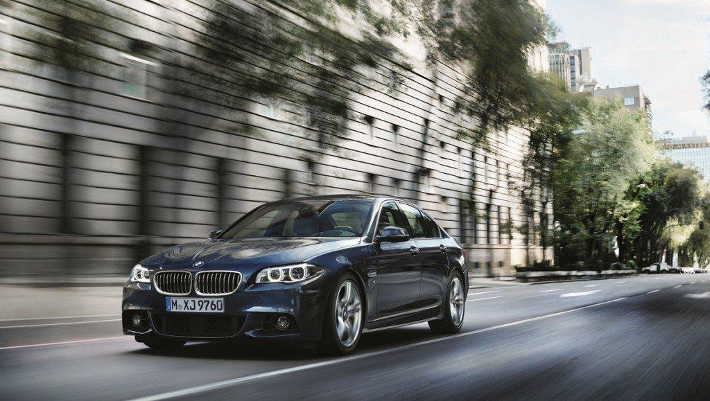 The new BMW 520d M Sport (2)