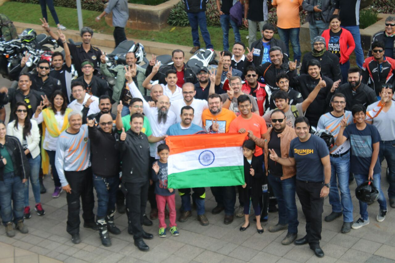 Triumph Motorcycles India - Ride for Freedom (1)