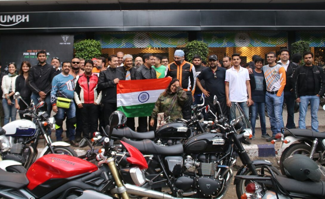 Triumph Motorcycles India - Ride for Freedom (2)