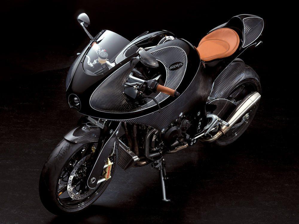 VanderHeide CarbonFibre Motorcycle (6)