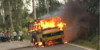18 year old KTM Duke rider rams into school bus 2 100x50 18 year old KTM Duke rider rams into school bus; driver saves all 12 kids as bus catches fire