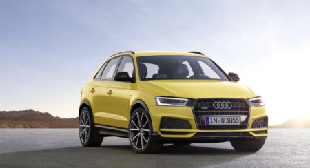 The Audi Q3 receives a light nip and tuck for 2017