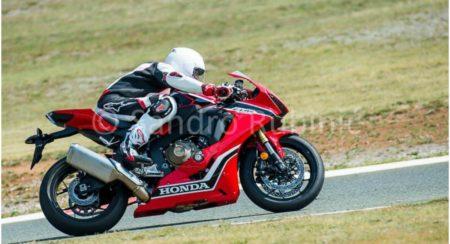 2017 Honda CBR1000RR Fireblade spotted