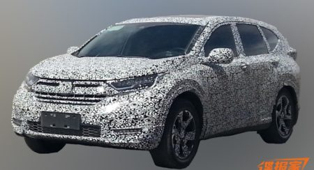 2017 Honda CR-V spied yet again; reveals host of features