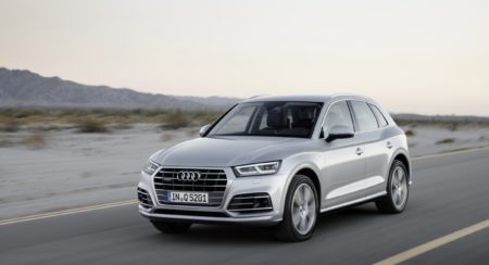 The all-new Audi Q5 bows down at the 2016 Paris Motor Show; will come to India eventually