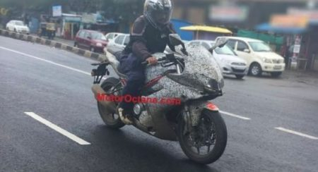benelli-302r-spied-in-india-1