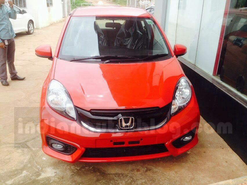 Honda Brio facelift (3)