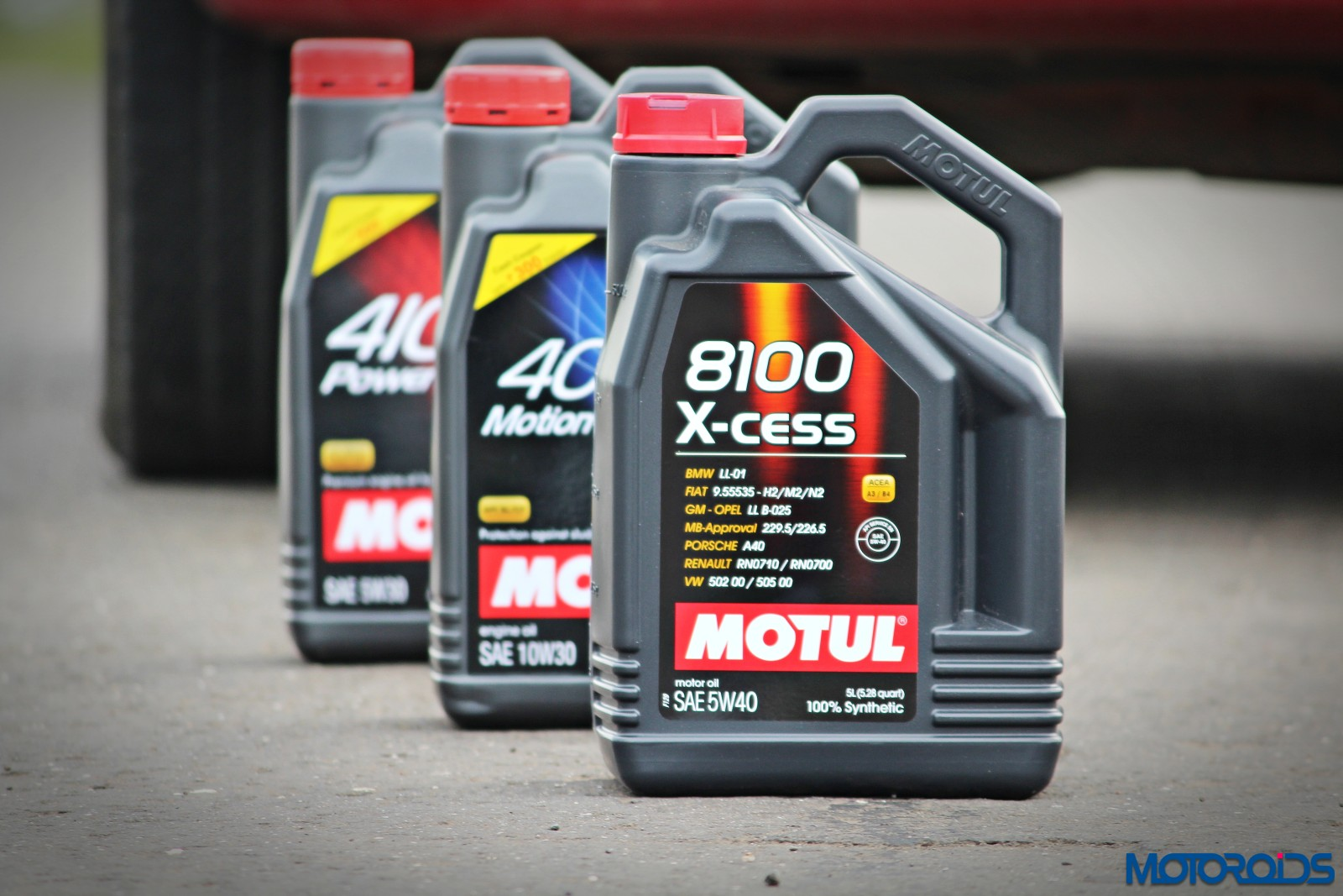 Motul All About Lubes : Synthetic engine oils and their