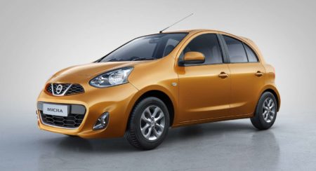 Image- Nissan Micra in new Sunshine Orange Colour
