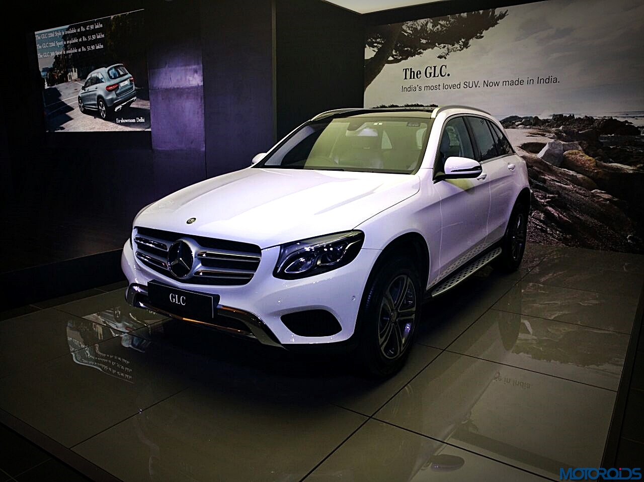 india made mercedes benz glc launched prices start at inr lakhs motoroids. Black Bedroom Furniture Sets. Home Design Ideas