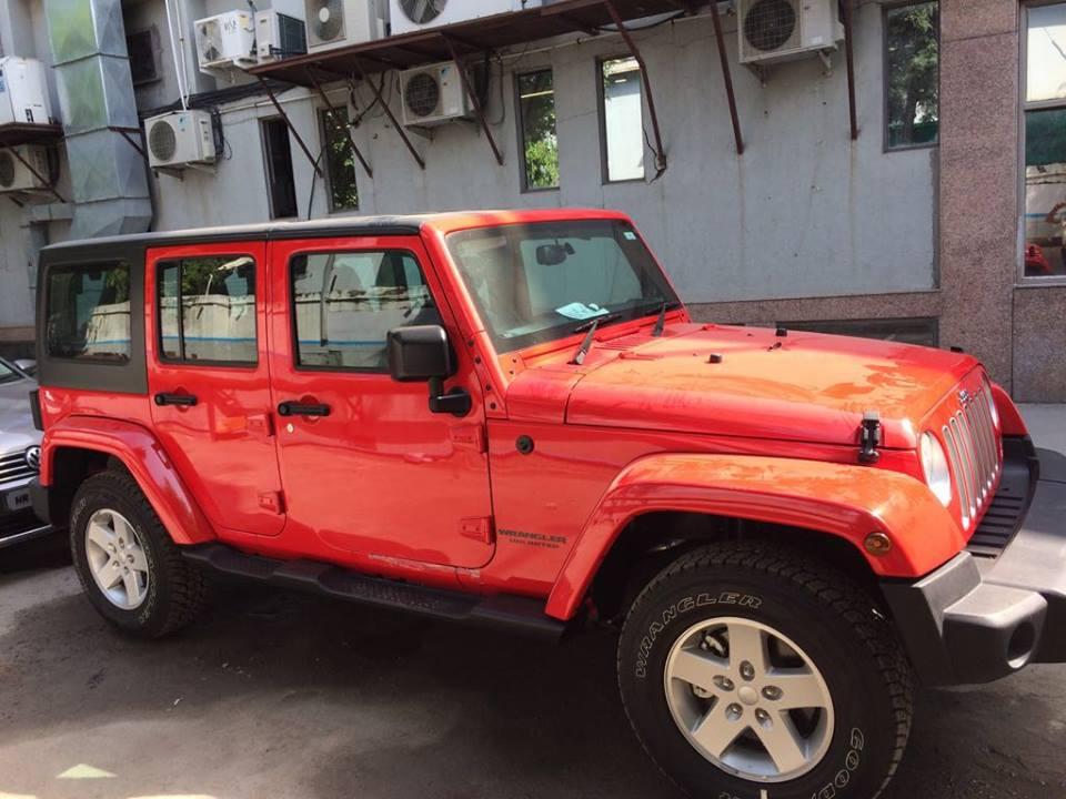 Jeep Wrangler India (1)