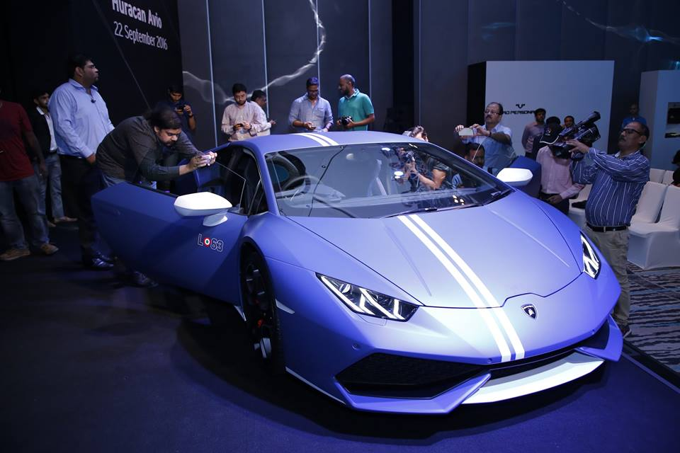 lamborghini huracan avio launched in india at inr crore limited to just 250 units. Black Bedroom Furniture Sets. Home Design Ideas