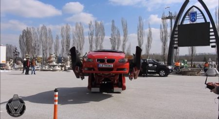 VIDEO: Watch this real life BMW 3 Series 'Transformers' in action