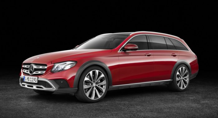 New Mercedes-Benz E-Class All-Terrain: Images, details and ...