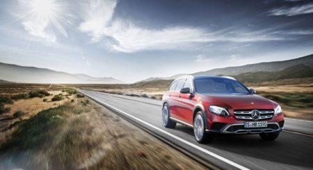 Mercedes-Benz E-Class - All Terrain Day Front Three Quarter