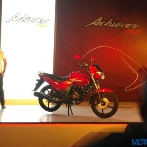 New Hero MotoCorp Achiever 150 India Launch : Live Updates, Images and Prices