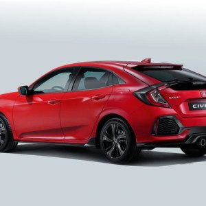 This Is The New 2017 Honda Civic Hatchback And It Looks