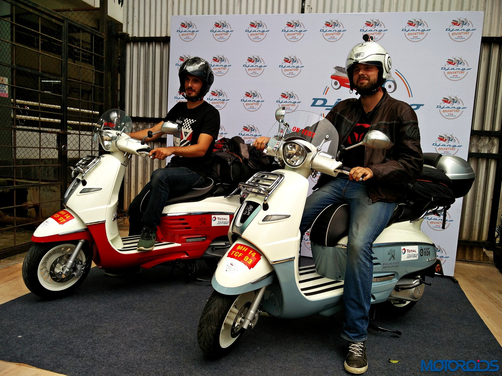 Two Peugeot Djangos Two Riders And One Epic Road Trip From Paris To Saigon Motoroids