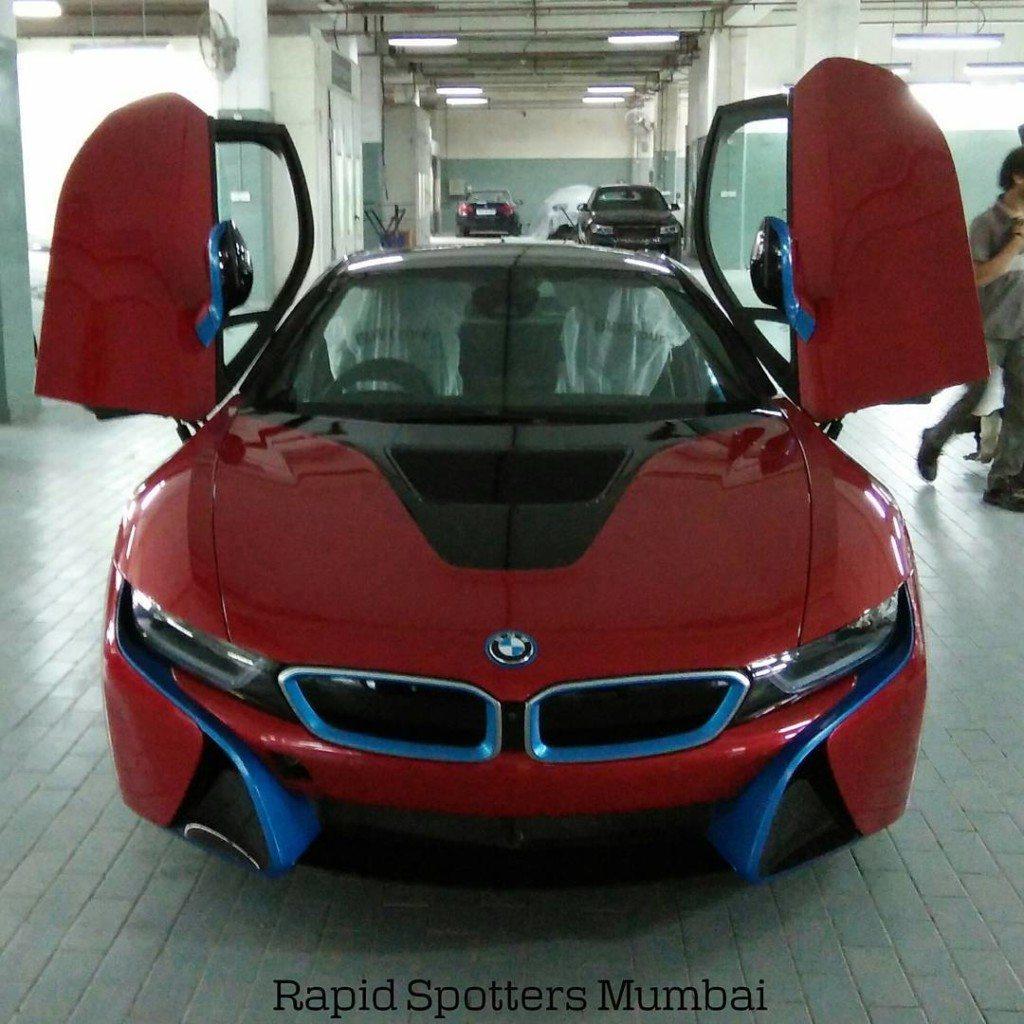 Sachin Tendulkar BMW i8 (1)