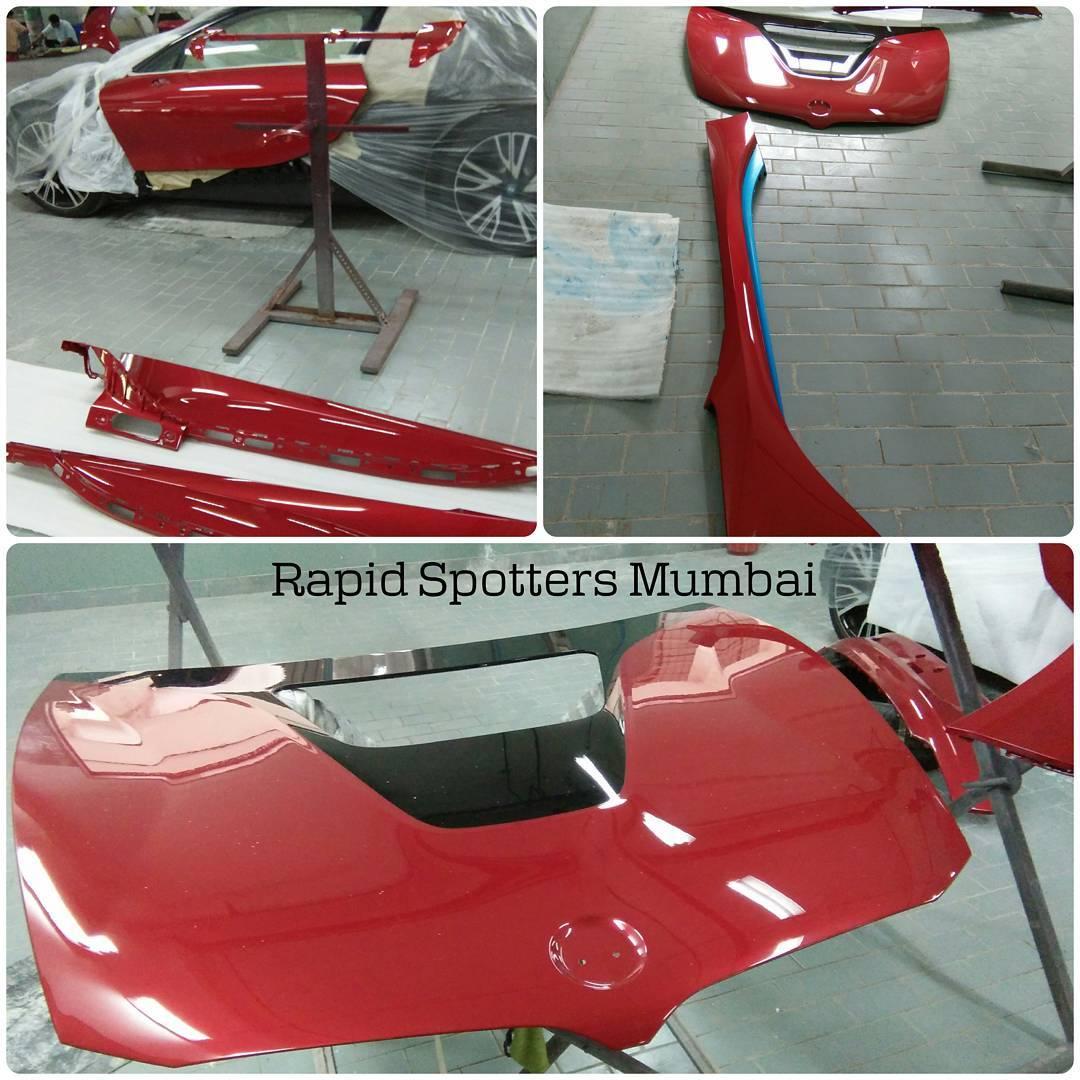 Sachin Tendulkar Gets His Bmw I8 Custom Painted To Red Motoroids