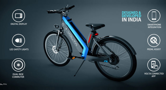 The Volta Zap from Chennai claims to be India's India's first crossover electric bike