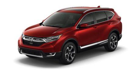 2017 Honda CR-V revealed; grows up and gets turbo-petrol power