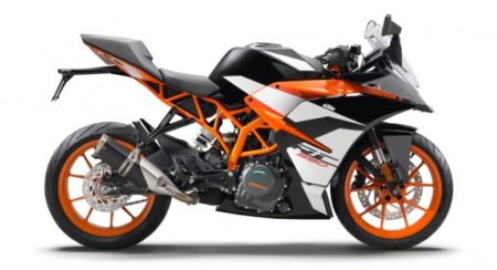 2017 KTM RC Range India launch on January 19