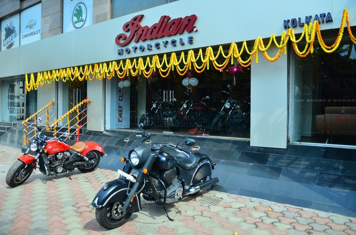 americas first motorcycle company indian motorcycle opens its 8th dealership in kolkata 1