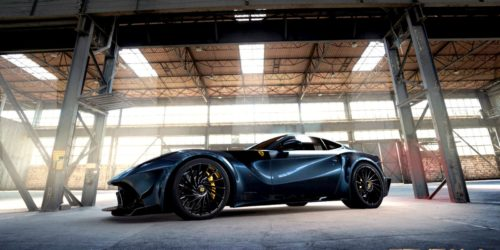 BENGALA F12 Caballería 4 500x250 This carbon fibre Bengala F12 Caballeria is stark raving mad!