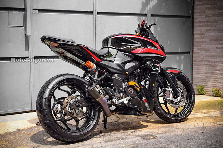 Bajaj Pulsar 200NS Gets Sugomi Slash; Modified To Look